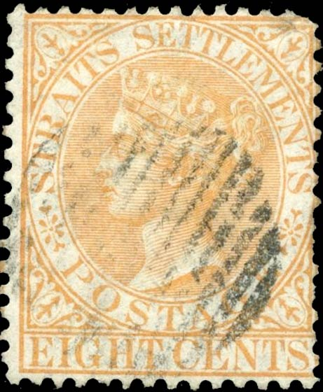 Straits_Settlements_QV_8c_Genuine