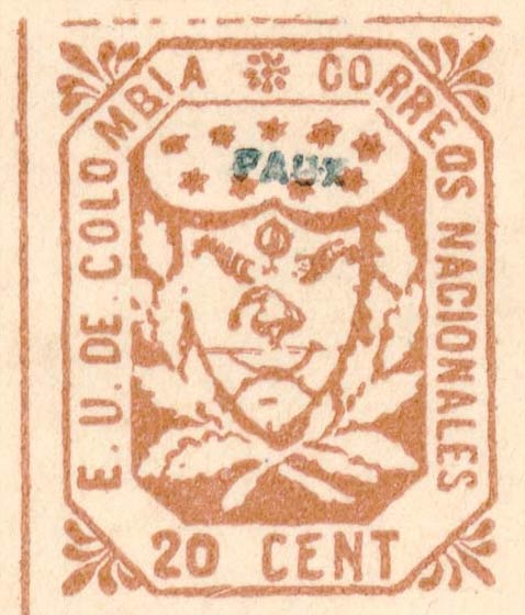 Colombia_1864_Coat_of_Arms_20c_Forgery