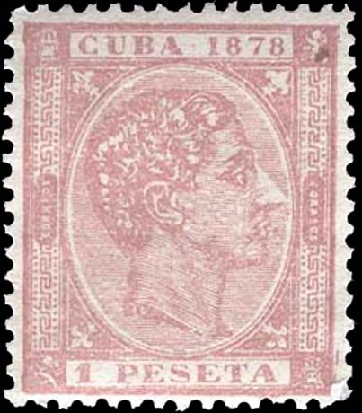 Cuba_1878_Alfonso_XII_1p_Forgery