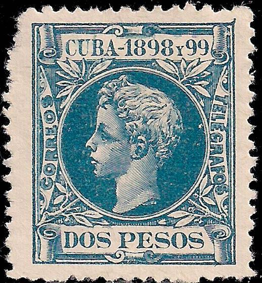 Cuba_1898_2p_Genuine