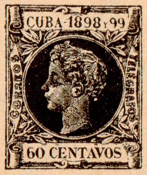 Cuba_1898_60c_Fournier_Forgery