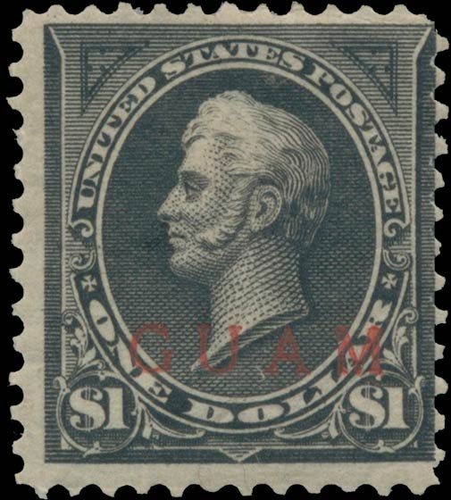 Guam_1899_1dollar_Genuine