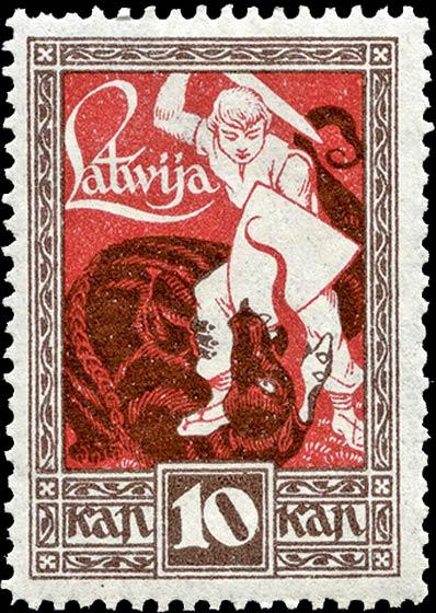 Latvia_1919_Liberation_of_Kurzeme_10k_Genuine