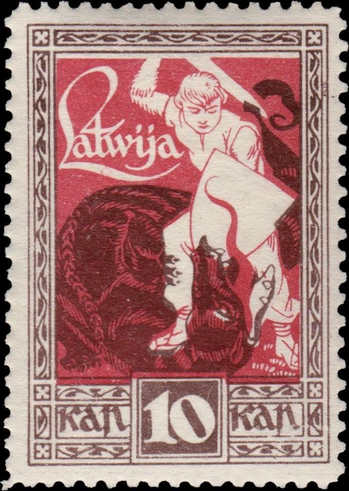 Latvia_1919_Liberation_of_Kurzeme_10k_Siimson-Kull_Forgery