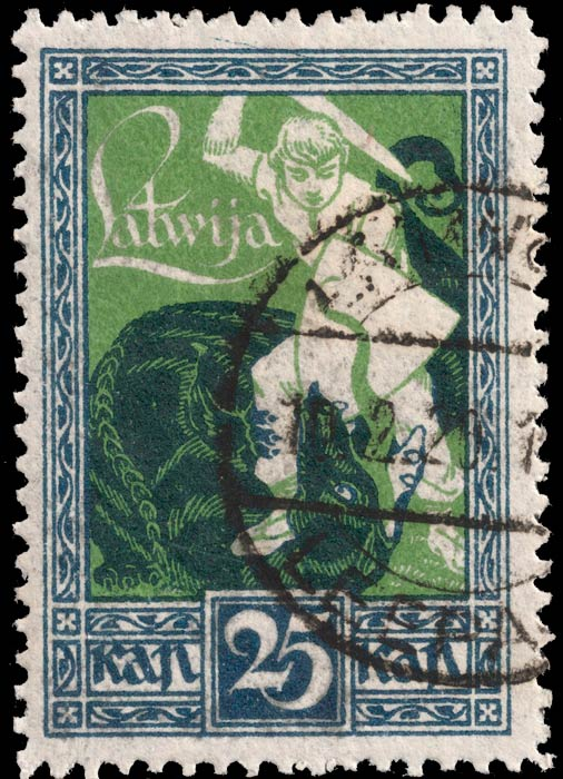 Latvia_1919_Liberation_of_Kurzeme_25k_Genuine