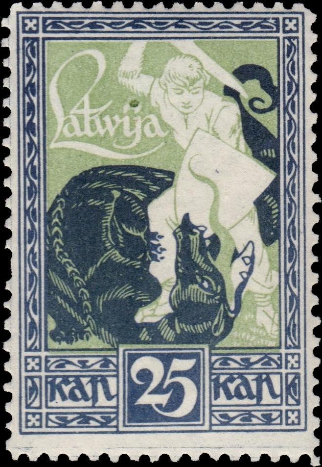 Latvia_1919_Liberation_of_Kurzeme_25k_Siimson-Kull_Forgery