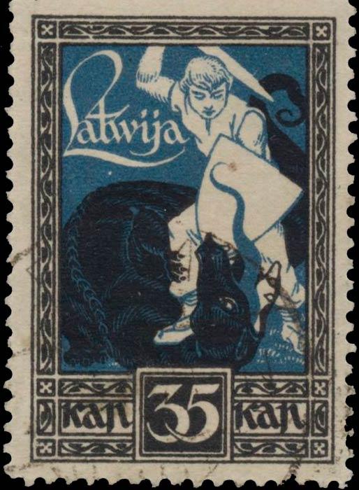 Latvia_1920_Liberation_of_Kurzeme_35k_Genuine
