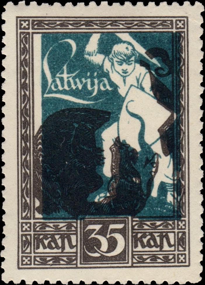 Latvia_1920_Liberation_of_Kurzeme_35k_Siimson-Kull_Forgery