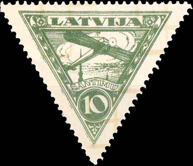 Latvia_1928_Airmail_10s_Forgery