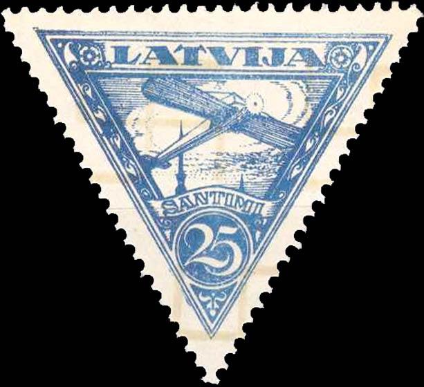 Latvia_1928_Airmail_25s_Forgery