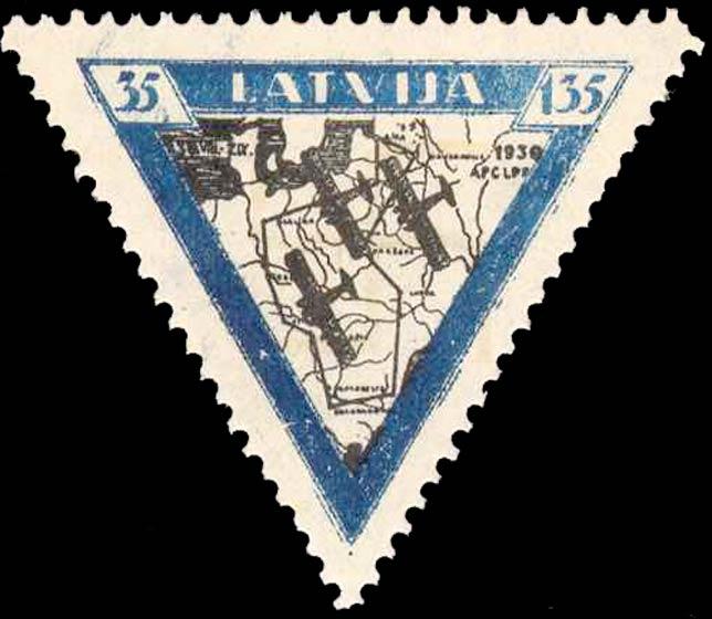 Latvia_1933_Airmail_35-135s_Forgery