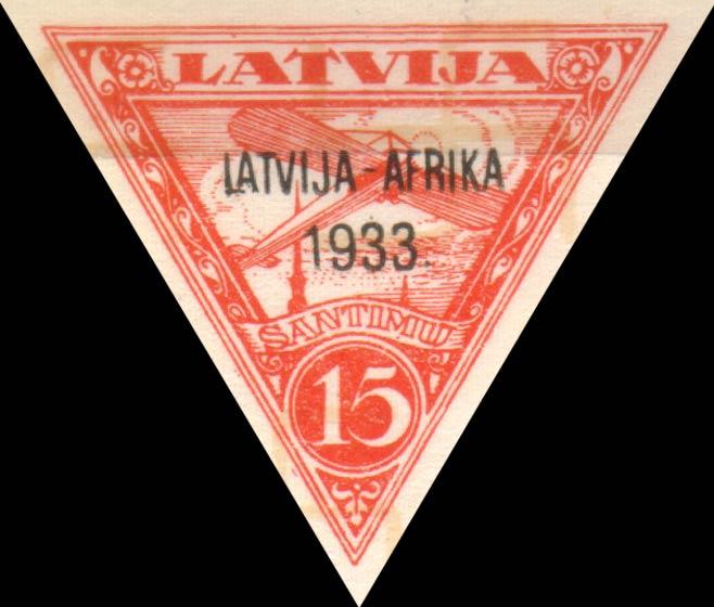 Latvia_1933_Airmail_Latvia-Gambia-overprint_15s_Siimson-Kull_Forgery