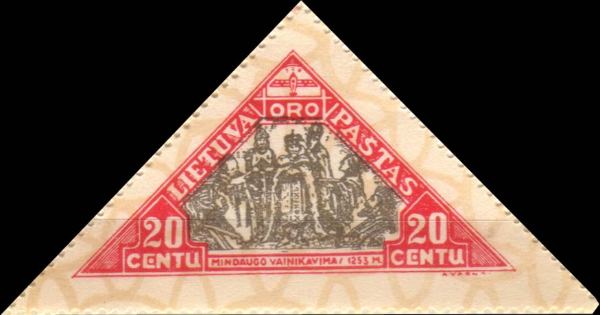 Lithuania_1932_Airmail_20c_Siimson-Kull_Forgery