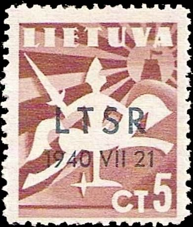 Lithuania_5ct_LTSR-1940-VII-21_Genuine
