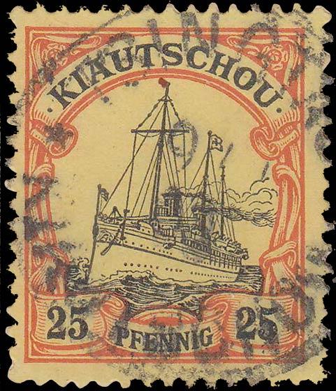 Kiautschou_25pfennig_Genuine