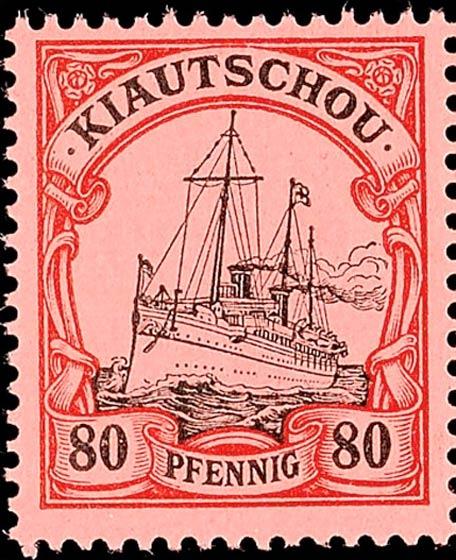 Kiautschou_80pfennig_Genuine