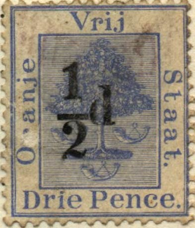 Orange_Free_State_1868_3d_Overprint_Forgery