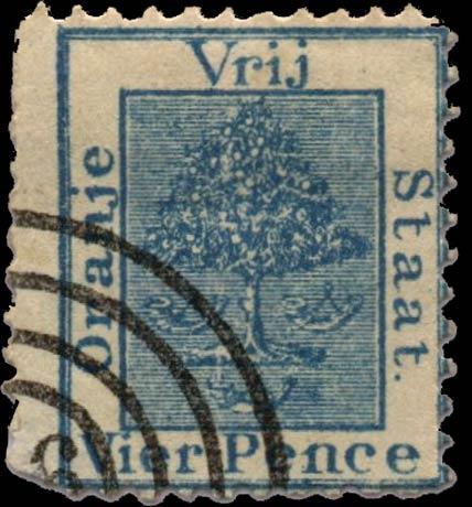 Orange_Free_State_1868_4d_Spiro_Forgery