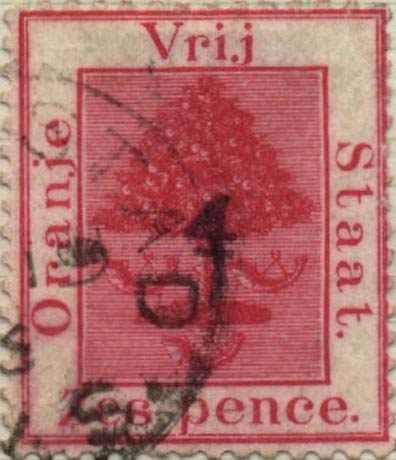 Orange_Free_State_1868_6d_Overprint_Forgery2