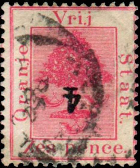 Orange_Free_State_1868_6d_Overprint_Forgery3
