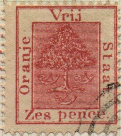 Orange_Free_State_1868_6d_Spiro_Forgery