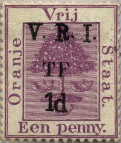 Orange_Free_State_Telegraph_1d_Overprint_Forgery