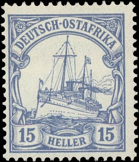 German_East_Africa_Kaiseryacht_15h_Genuine