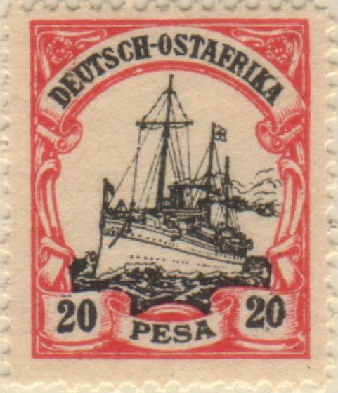 German_East_Africa_Kaiseryacht_20p_Fournier_Forgery