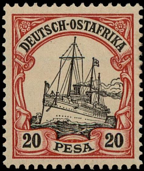 German_East_Africa_Kaiseryacht_20p_Genuine