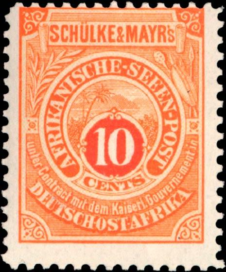 German_East_Africa_Schulke-and-Mayr_10c_Genuine