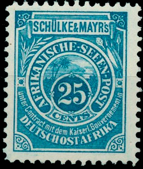 German_East_Africa_Schulke-and-Mayr_25c_Reprint