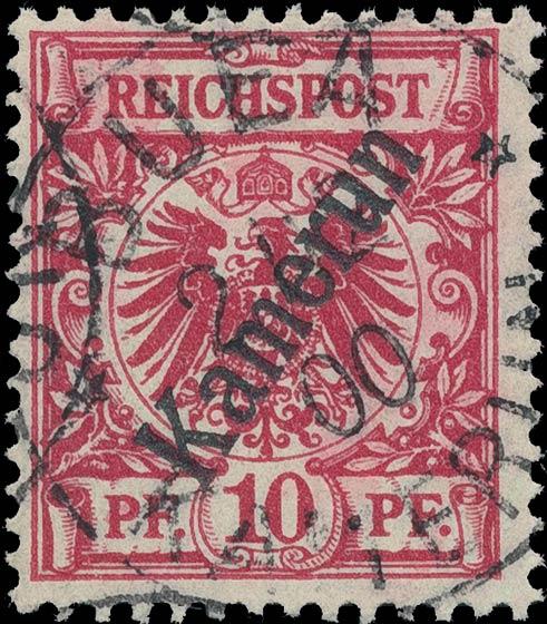 Kamerun_1898_10pf_Genuine