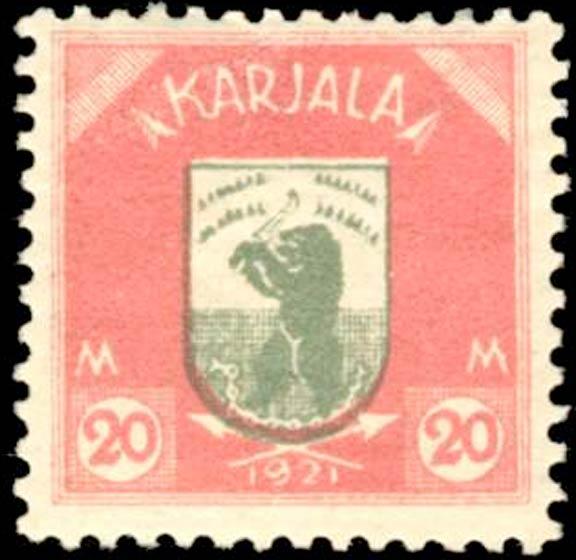 Karelia_1922_Bear_20m_Forgery