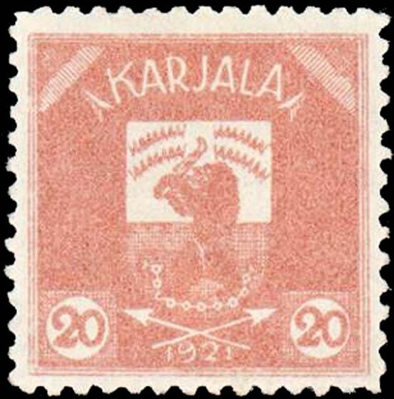 Karelia_1922_Bear_20p_Genuine