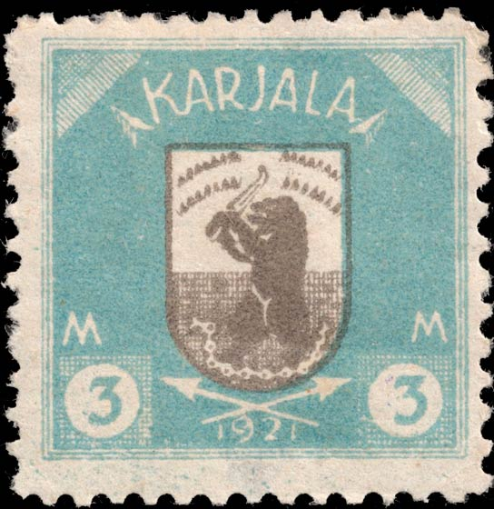 Karelia_1922_Bear_3m_Forgery