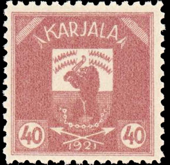 Karelia_1922_Bear_40p_Genuine