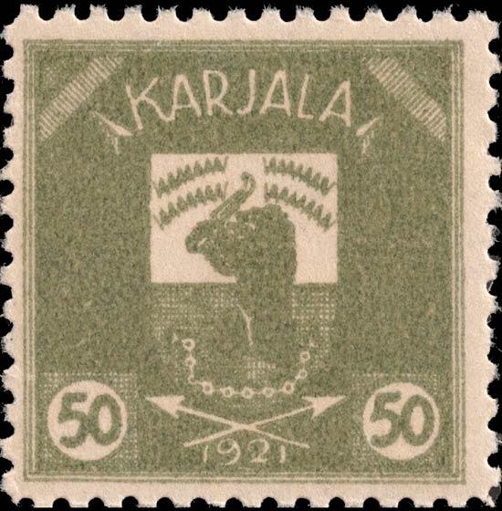 Karelia_1922_Bear_50p_Genuine