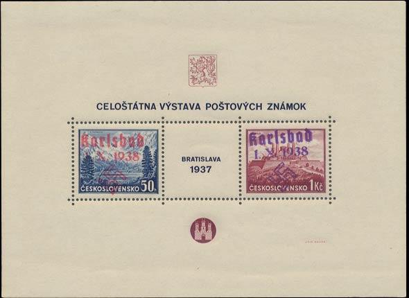Karlsbad_1937_Bratislava_Block_Genuine