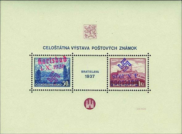 Karlsbad_1937_Bratislava_Block_Genuine_Variety