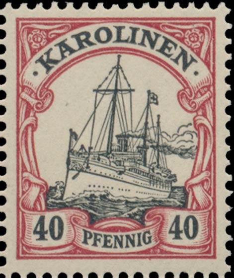 Karolinen_40pfennig_Genuine