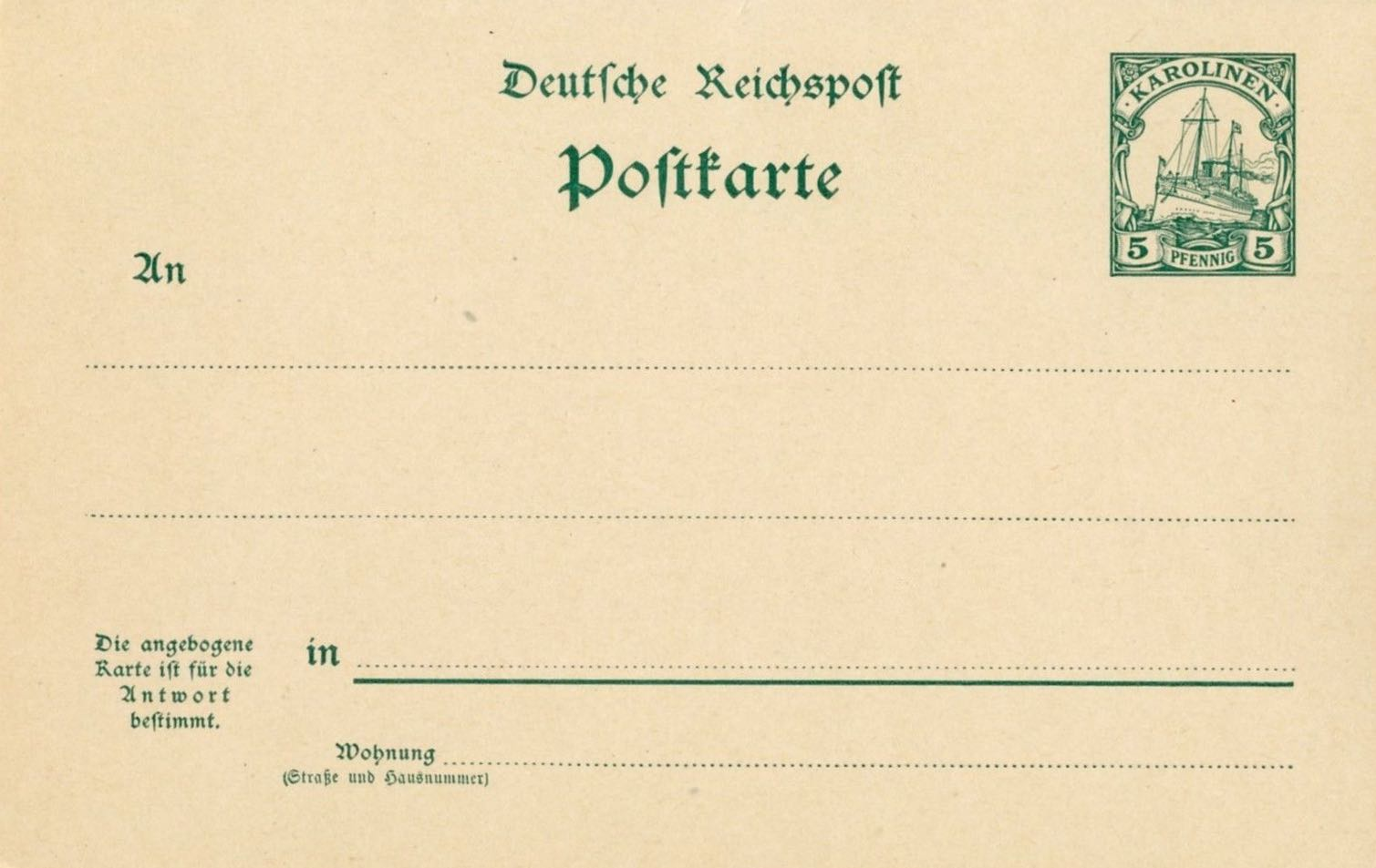 Karolinen_Postal_Stationary_P9