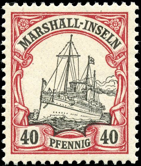 Marshall_Islands_Kaiseryacht_40pf_Genuine
