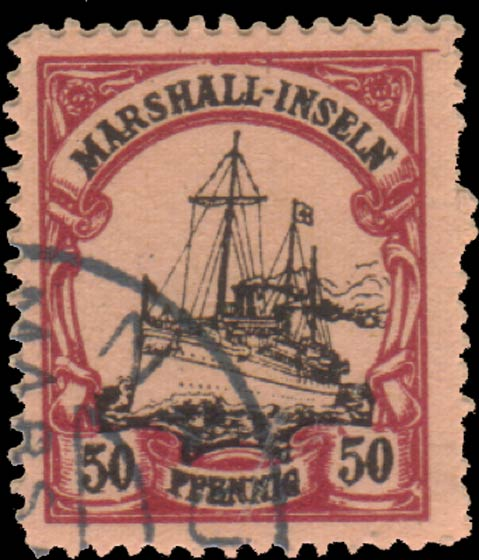 Marshall_Islands_Kaiseryacht_50pf_Fournier_Forgery2