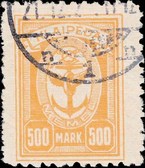 Memel_500m_Forged_Postmark