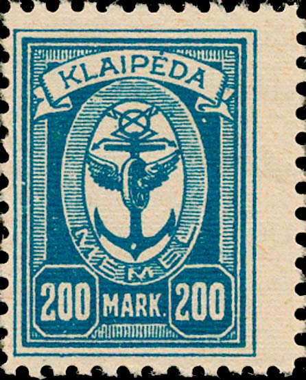 Memel_Klaipeda_1923_200mark_Genuine