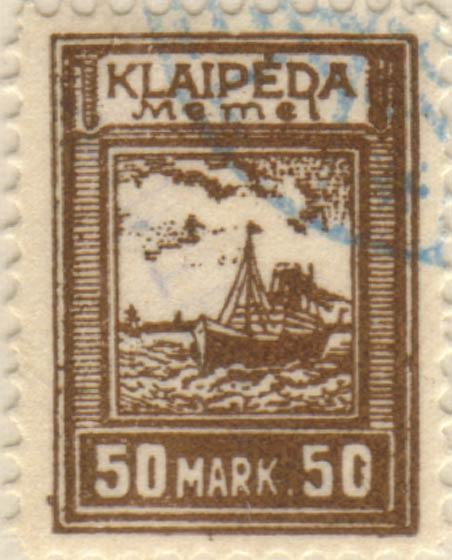 Memel_Klaipeda_1923_50mark_Szekula_Forgery