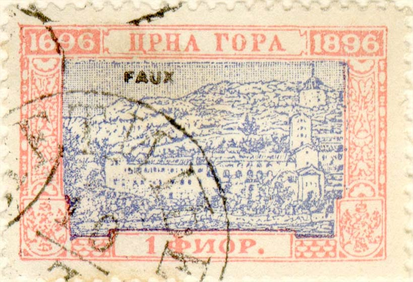 Montenegro_1896_200years_1g_Fournier_Forgery