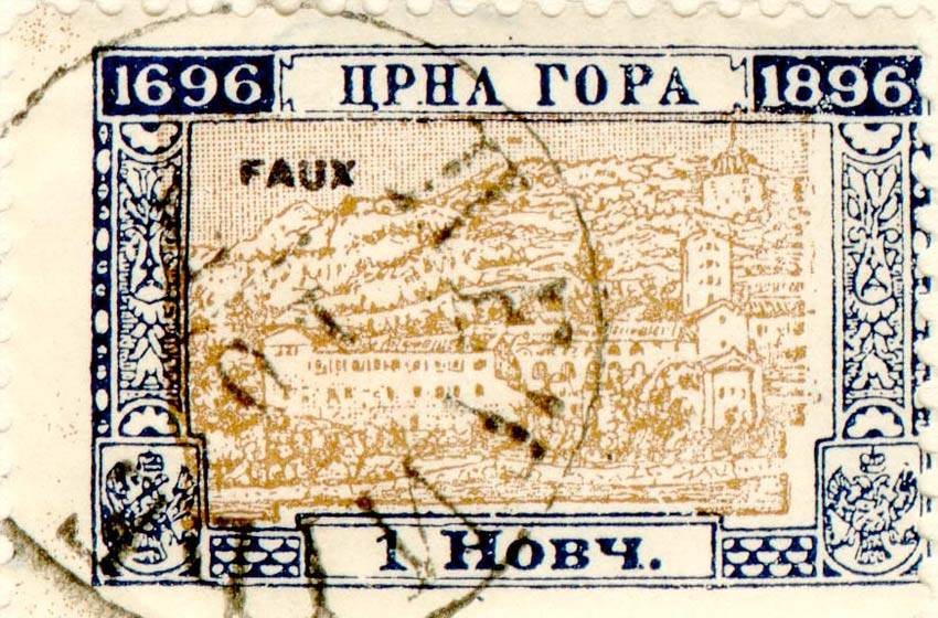 Montenegro_1896_200years_1nkr_Fournier_Forgery