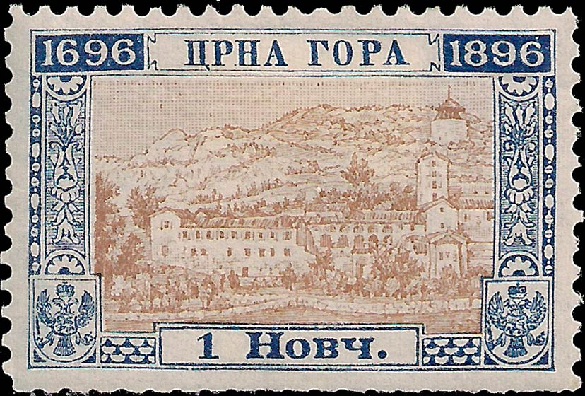 Montenegro_1896_200years_1nkr_Genuine