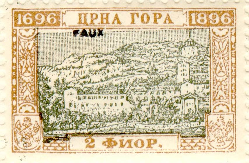 Montenegro_1896_200years_2g_Fournier_Forgery
